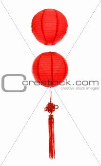 Oriental red lantern