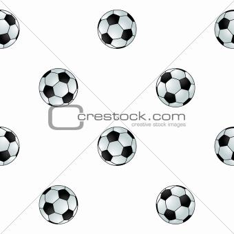 Seamless football background