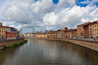 Arno River , Pisa