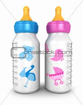 3d feeding bottles