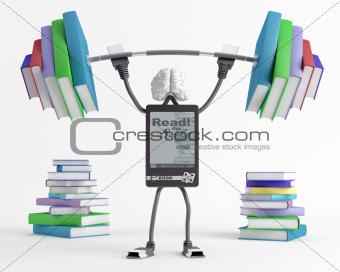 Capacity of e-book