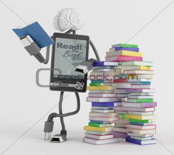 E-Book man