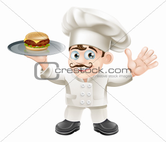 Cheeseburger chef