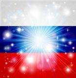 Russian flag background