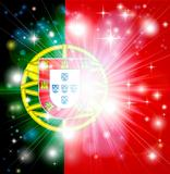 Portuguese flag background