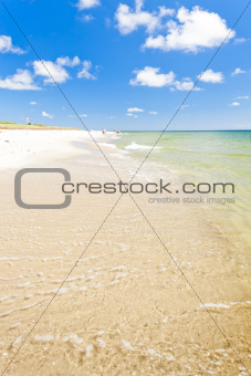 beach on Hel Peninsula, Pomerania, Poland