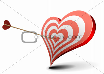 valentine heart target