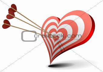 valentine heart target