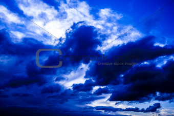 Blå heaven