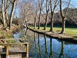 Duchy park in Uzes, Provence, France