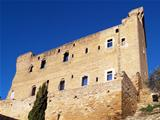 The Papal Castle in Chateauneuf-du-Pape