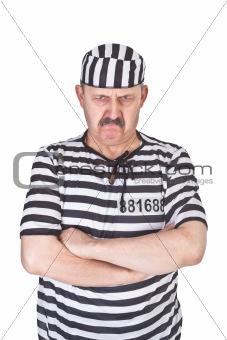 angry prisoner