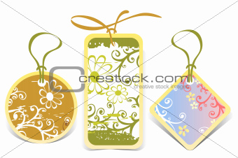 price tags set