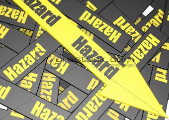 Hazard banner