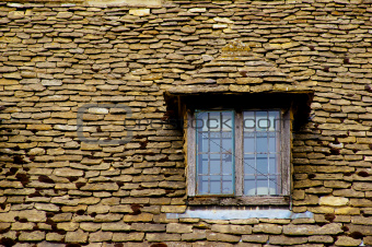 Stone roof