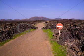 Volcanic park Timanfaya
