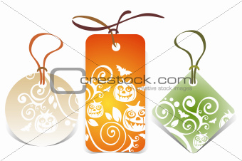 halloween price tags