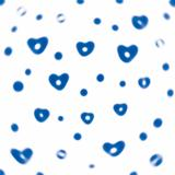 Abstract background hearts.
