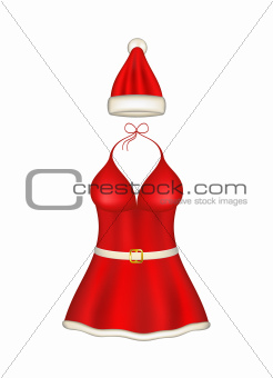 Sexy santa clause costume