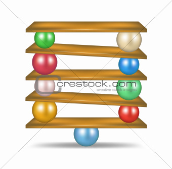 Balanced balls