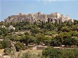 Acropolis From The Athens Agora