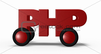 php on wheels