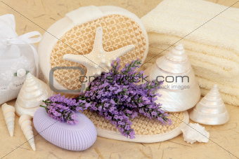 Lavender Flower Spa