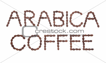 Arabica Coffee Sign