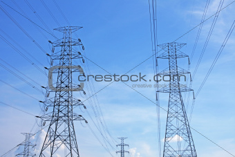 high voltage power pylons2