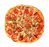 Baked Sliced Pizza