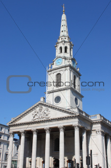 St Martin church in the Fields, London