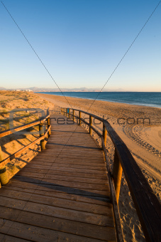 Southern Alicante bay