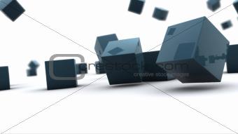 cube background
