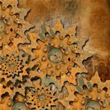 Grunge Gears Background
