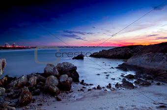 Beautiful south Europe beach
