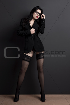 Hot businesswoman