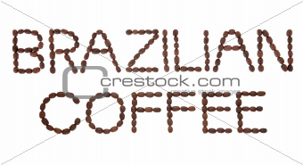 Brazilian Coffee Sign