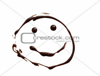 Chocolate smiley