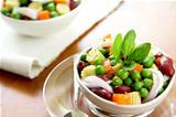 Beans & peas salad