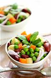 Beans &amp; peas salad