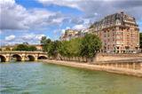 Parisian urban view.