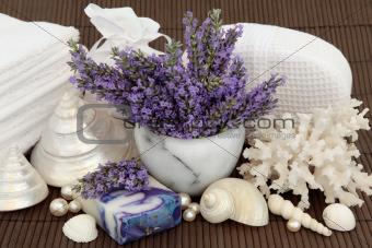 Lavender Flower Spa