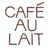 Cafe au Lait Sign