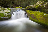 Roaring Fork Great Smoky Mountains National Park Waterfall Scenic Landscape