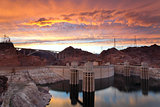 Hoover Dam.