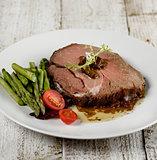 Slice Of Beef Roast