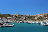 Gozo island bay