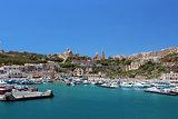 Gozo island bay