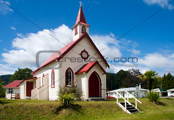 Church in Murchison, New Zealand