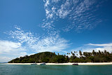 Blue sky and tropical beach (Koh Rang, Phuket